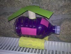 Soda pop bottle helicopter craft