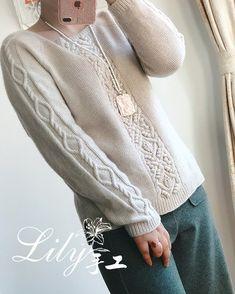 Sweater Knitting Patterns, Knitting Designs, Knitting Yarn, Hand Knitting, Knitwear Fashion, Knit Fashion, Jumpers For Women, Pulls, Celtic
