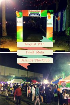 Being Co-sponsors In 15th August 2015 Food Mela In Balance The Club