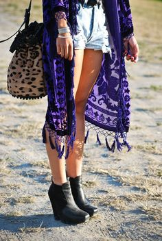 Boho chic with leopard!