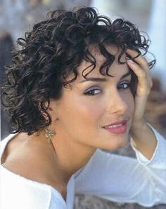 Image result for hairstyles short curly hair