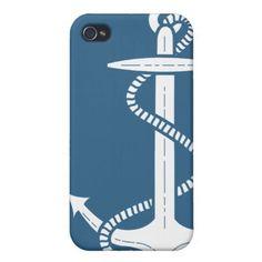 Seemarine-Anker iPhone Fall iPhone 4 Etui