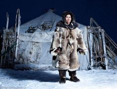 Dedicated: Sasha Leahovcenco trudged through snow drifts and blizzards, across the deep tundra of the area