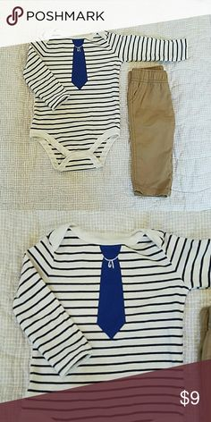 Boys Onesie  6-9 Month Onesie and Slacks :) looking for something in particular....just ask!! Carter's Matching Sets