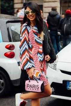 Best Street Style - Milan Fashion Week Fall 2016 | Teen Vogue