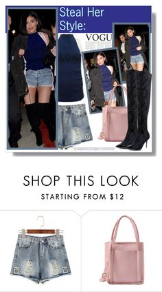 """""""Steal her style: Kylie Jenner"""" by aminkicakloko ❤ liked on Polyvore"""