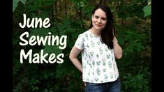 June Sewing Makes and a lot of other useful sewing things in this video from Alisa! All free patterns I used in the infobox below: ✂️ FR. Sewing Patterns Free, Free Sewing, Free Pattern, Bias Tape Maker, Fabric Markers, Tunic Pattern, Sewing Tools, June, T Shirts For Women