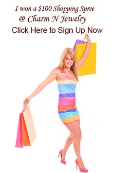#Shopping for #Charms and #Jewerly    Sign Up for our $100 Monthly Shopping Spree Giveaway (Only Takes about 30 Seconds !)
