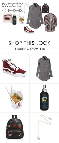 """""""Sweater Dresses"""" by disney-geek-forever on Polyvore featuring Vans, Bumble and bumble, Ollie & B, Estella Bartlett and Old Navy"""