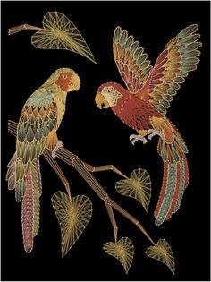 Parrots - StringArt.Com