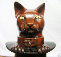 black forest cat inkwell
