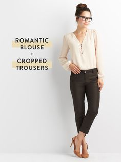 Rethink neutrals at the office. Next time you reach for your trusty pair of black, navy or grey pants (we know they're your fashion fail-safe!) take your look to a more grounded, earth-toned place instead.