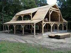 scheune Barn construction How Old Should You Be Before You Buy A Loft Bed? Pole Barn House Plans, Barn Garage, Pole Barn Homes, Barn Plans, Pole Barn Designs, Barn Apartment, Apartment Plans, Barn Shop, Casas Containers