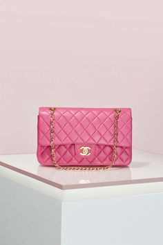 Shop Nasty Gal's Amazing Vintage Chanel Collection - 2.55 Pink Leather Bag | @StyleCaster