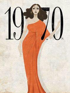 1970 Fashion Illustration