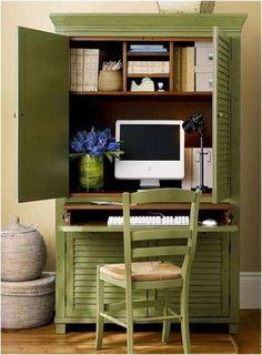 repurposed armoirs