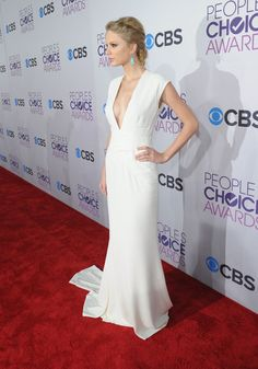 Taylor Swift - Hair - People's Choice Awards 2013