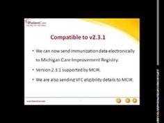 iPatientCare EHR Complies with the Michigan Care Improvement Registry (MCIR) |
