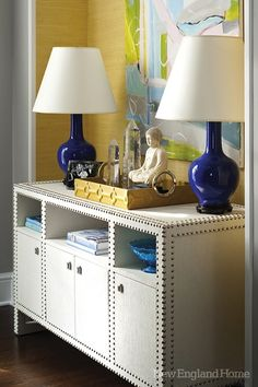 I would love a room that has at least one wall of Colorful Grasscloth someday!