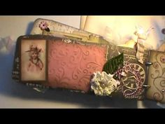 ▶ Shabby chic envelope tag mini album and kit - YouTube