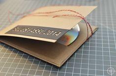 DIY | Foto-CD Cover aus Papier - Kathie's Cloud | Empfohlen von www.himmelreich-fotografie.de