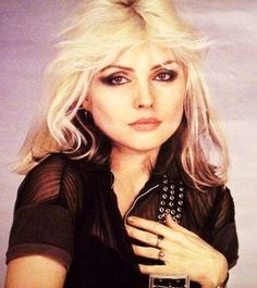 """Deborah Ann """"Debbie"""" Harry (born July 1, 1945) is an American singer-songwriter and actress best known for being the lead singer of the punk rock and new wave band Blondie. Description from imgarcade.com. I searched for this on bing.com/images"""