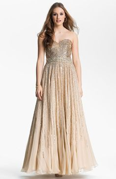 Rose and Gold sexy Print Ballgown 51439  PrintDress  Jovani  Prom2018  301bcfd69