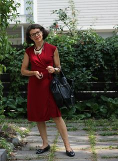Max Azria red dress