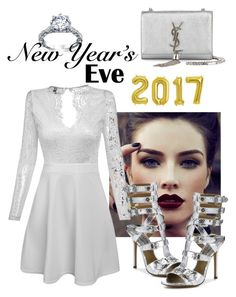 """New year"" by chiara-galante on Polyvore featuring Michael Kors and Yves Saint Laurent"