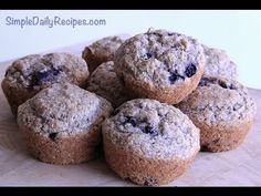 Made these this morning -- yum! Makes 48 mini-muffins. Love the applesauce and whole wheat flour.