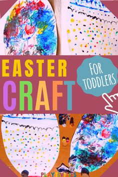 12 Hilarious Easter Games For Family Gatherings - PLAYTIVITIES Easter Party Games, Easter Activities For Kids, Easter Crafts For Kids, Toddler Crafts, Easter Ideas, Toddler Activities, Family Games, Family Activities, Finger Painting
