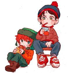 Kyle & Stan ~ baby boys