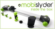 The world's first portable camera slider designed specifically for small video-enabled devices. Start shooting the next blockbuster. www.mobislyder.com