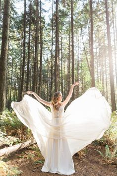 Forest bridal inspiration | Camilla Anchisi Photography  http://www.camillaanchisi.com/ | Featured on Fab You Bliss