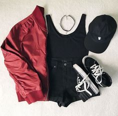 643419f9eece8 Rock Outfits, School Outfits, Casual Outfits, Cute Outfits, Girls Summer  Outfits,