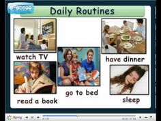 DAILY ROUTINES | My English Blog