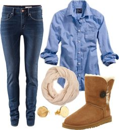 """Casual"" by natihasi on Polyvore"