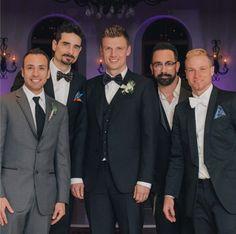 Backstreet Boys – AJ McLean, Nick Carter, Brian Littrell, Kevin Richardson, and Howie Dorough.