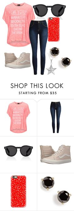 """""""Casual"""" by harrygranger ❤ liked on Polyvore featuring Replace, Illesteva, Vans, Casetify, Kate Spade and True Rocks"""