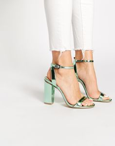 ASOS HERMIONE Heeled Sandals Literally crying over these heels....