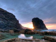 Roque del Moro en Cofete, Fuerteventura, Islas Canarias,  Foto de Fuerteshoot