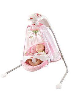 Amazon.com : Fisher-Price Papasan Cradle Swing, Mocha Butterfly : Stationary Baby Swings : Baby