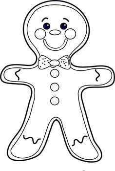 Gingerbread Man Coloring Pages Ideas. Do you know Gingerbread man coloring pages? It is one of the most interesting coloring pages that you can give to your chi Gingerbread Man Coloring Page, Gingerbread Man Story, Christmas Gingerbread Men, Online Coloring Pages, Coloring Pages For Girls, Colouring Pages, Mandala Coloring, Coloring Books, Preschool Christmas