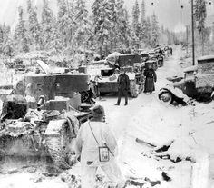 Following the fall of Poland, an amazed world watched tiny Finland, a nation of less than four million people, fight off 26 Russian divisions.