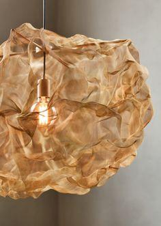 Northern Heat Hängeleuchte, Ø messing Large Pendant Lighting, Diy Pendant Light, Brass Pendant, Pendant Lights, Pendant Lamps, Room Lights, Ceiling Lights, Style Artisanal, Deco Luminaire
