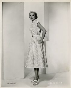 Grace Kelly studio portrait for To Catch a Thief