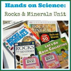 Hands On Science: Rocks & Minerals Unit from Starts At Eight