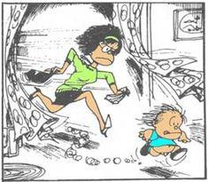 Mafalda Guille y mama