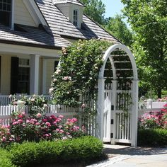 Picket Fence Design Ideas, Pictures, Remodel, and Decor - page 4