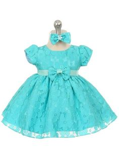Baby's darling daisy dress